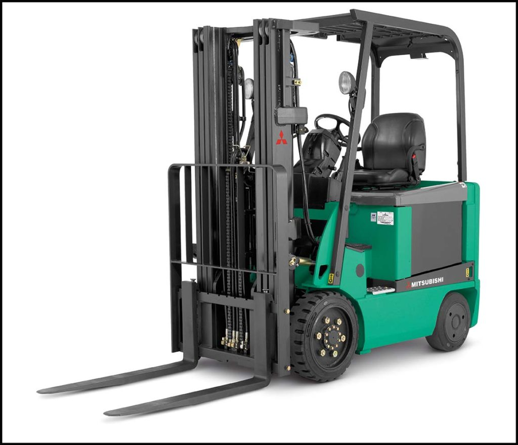 small electric cushion forklift